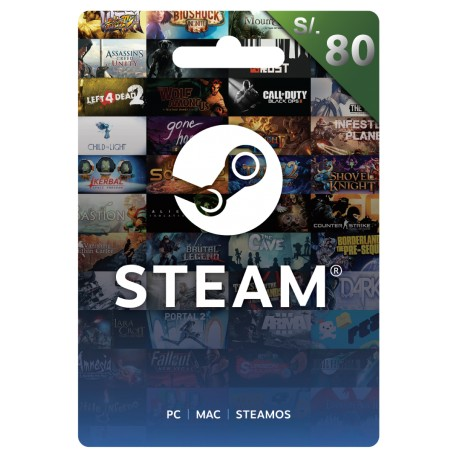 SteamWallet 80PEN